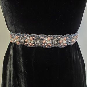 ALTAR'D STATE Beaded Embellished Rhinestone Belt